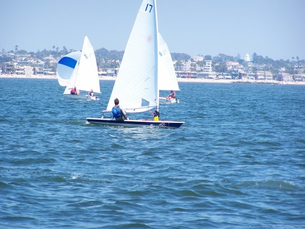 Racing in Newport Beach, CA
