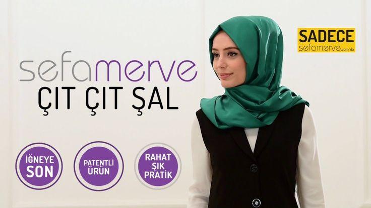İğne kullanmadan hızlı, kolay, pratik Sefamerve çıt çıt şal... Hiçbir yerde bulamayacağınız, patentli ürün sadece sefamerve.com'da #şal #eşarp #çıtçıtşal #sefamerve #tesetturgiyim #tesettur #hijab #tesettür