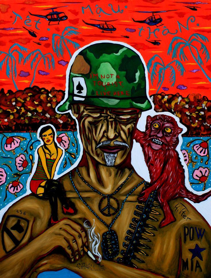 Vietnam War Veteran, Tet offensive