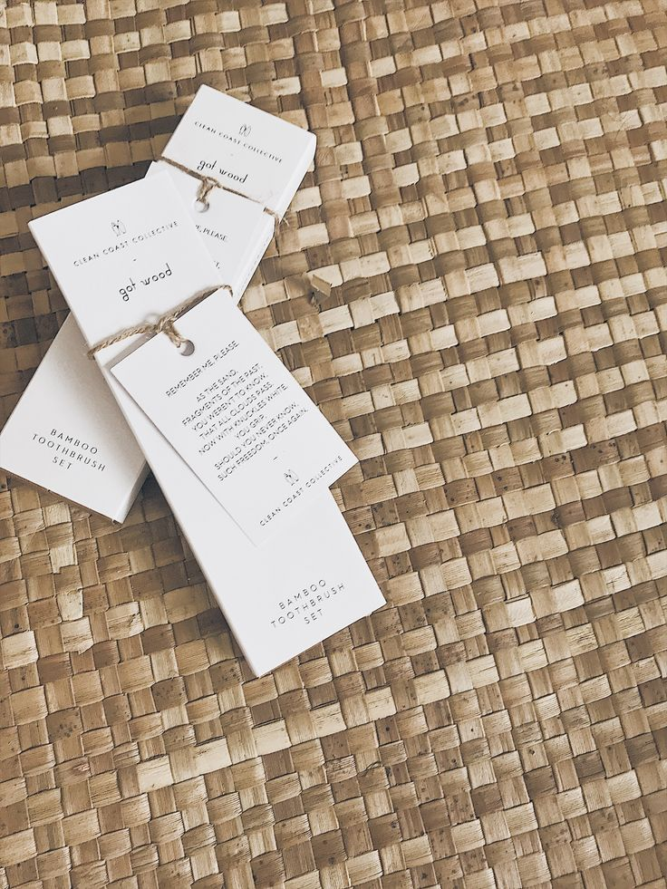 Bamboo toothbrush sets. Exclusive to cleancoastcollective.org