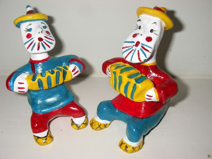 Каргопольская игрушка-свистулька