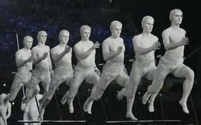 Runners (opening ceremony of Olympic games 2004)