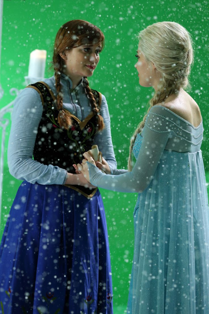 Georgina haig filming once upon a time 06 full size pictures to pin on - Anna And Elsa 4 11 Shattered Sight Find This Pin And More On Once Upon A Time By Hayalions Elizabeth Lail And Georgina Haig
