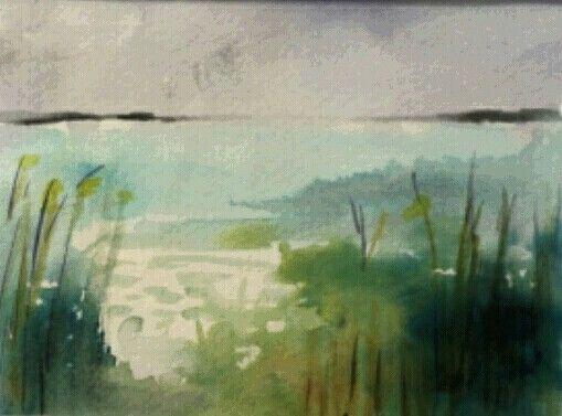 Anahíta akvarell
