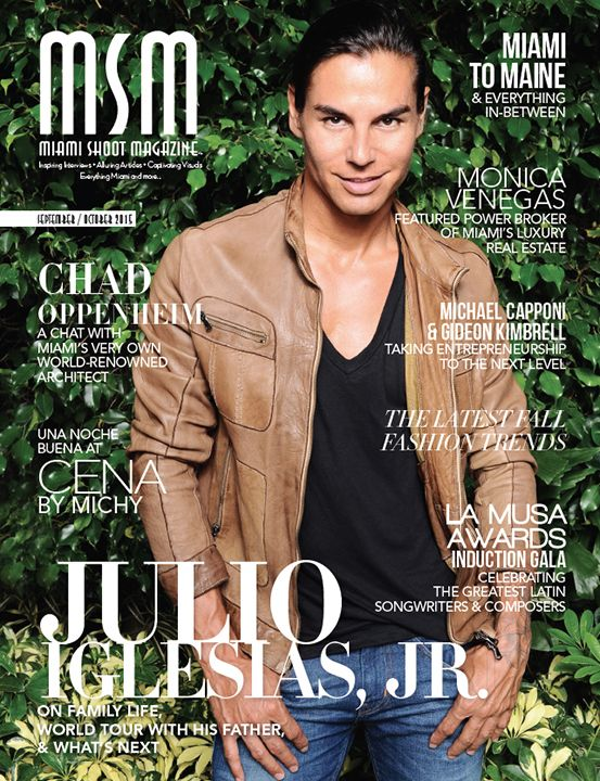 Julio Iglesias, Jr. Interview with MSM | Cover Feature