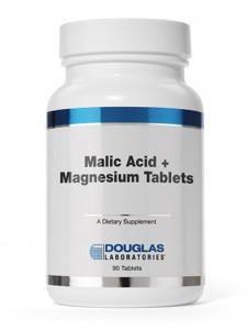 Malic Acid + Magnesium 90 tabs.