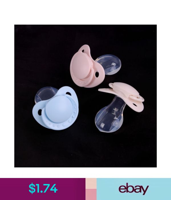 New Adult Nibbler Pacifier Feeding Nipples Adult Sized Design Back Cover Gift;