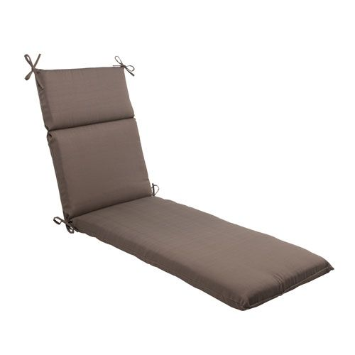 Outdoor Forsyth Chaise Lounge Cushion in Taupe