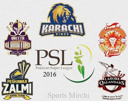Looking for team squads and 16-member players list for Pakistan Super League 2016? Then get all participating 5 teams players and captains here.