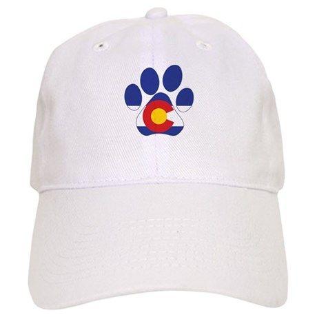 1fd071a21b4 Colorado Paws Baseball Cap on CafePress.com