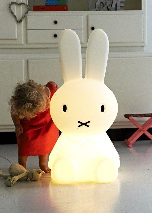 Nijntje lamp 80cm Wit