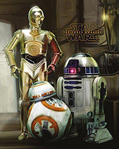 Galaktische Freunde für die Wand! #R2D2 #C3PO #BB8