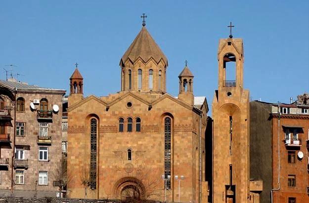 Saint Sarkis Church Yerevan Armenia El Caucaso