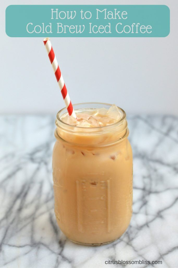 how to make iced coffee recipe