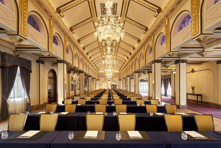Conference room @ Fairmont Peace Hotel #Shanghai #China