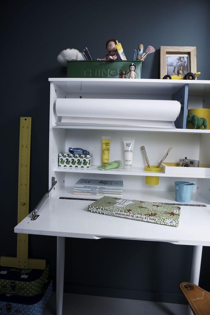 les 25 meilleures id es de la cat gorie bureau mural rabattable sur pinterest station de l 39 art. Black Bedroom Furniture Sets. Home Design Ideas