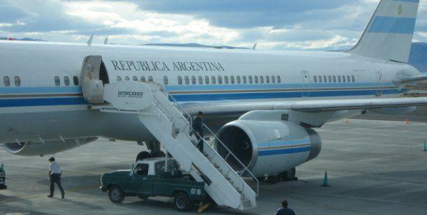OVNI voló junto al avión de Cristina Kirchner
