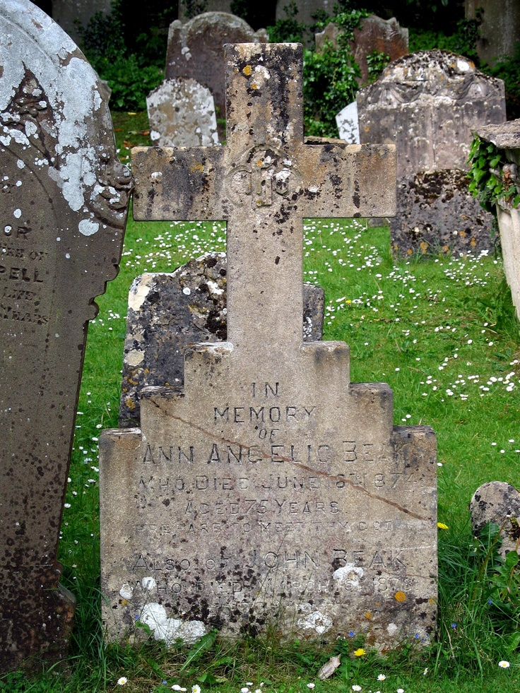 Cemetery Cross, Church of St. Andrew, Castle Combe,England  2011 / by Marny Perry