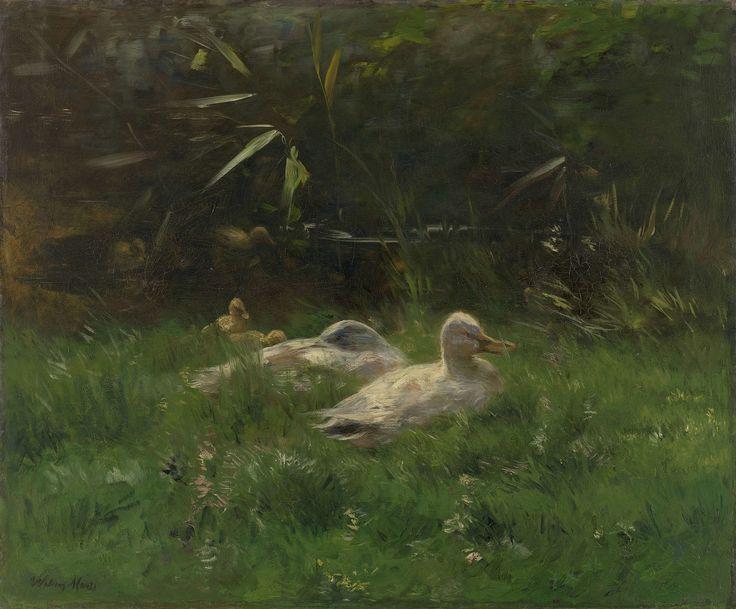 Eenden, Willem Maris, ca. 1880 - ca. 1904