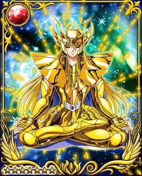 Supremo cavaleiro de Virgem-Galaxy Card Battle Shaka de Virgem