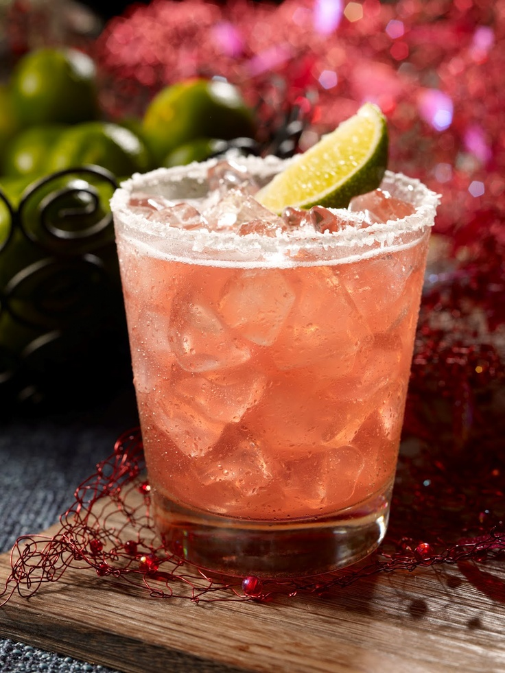 Patron Cosmo Rita 1 oz Patron Tequila1/2 oz triple sec1/2 oz fresh lime juice1/2 oz cranberry juiceShake tequila, triple sec, lime and cranberry juice vigorously in a shakerwith ice. Strain into a margarita glass, garnish with a lime wedge on therim, and serve.