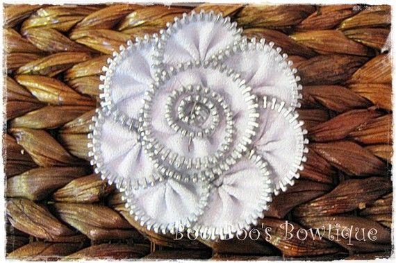 love the zipper flower