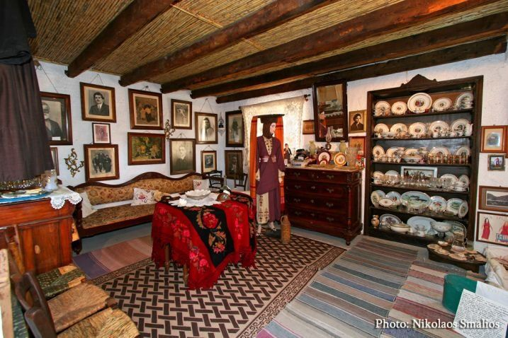 The Traditional Kalymnian House, a private collection of household artifacts collected to show the life style of the past couple of centuries.