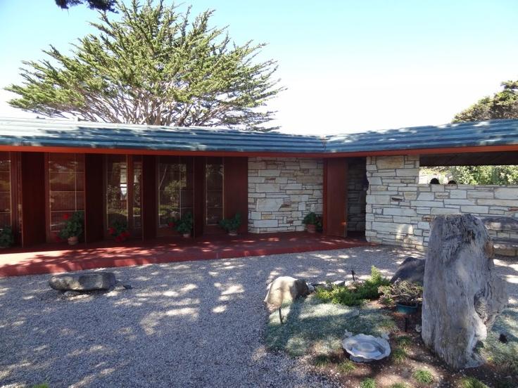 219 best frank lloyd wright et al images on pinterest for Frank lloyd wright houses in california