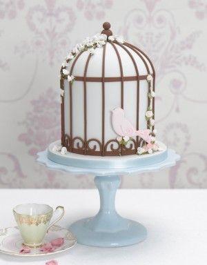 Birdcage cakes :)