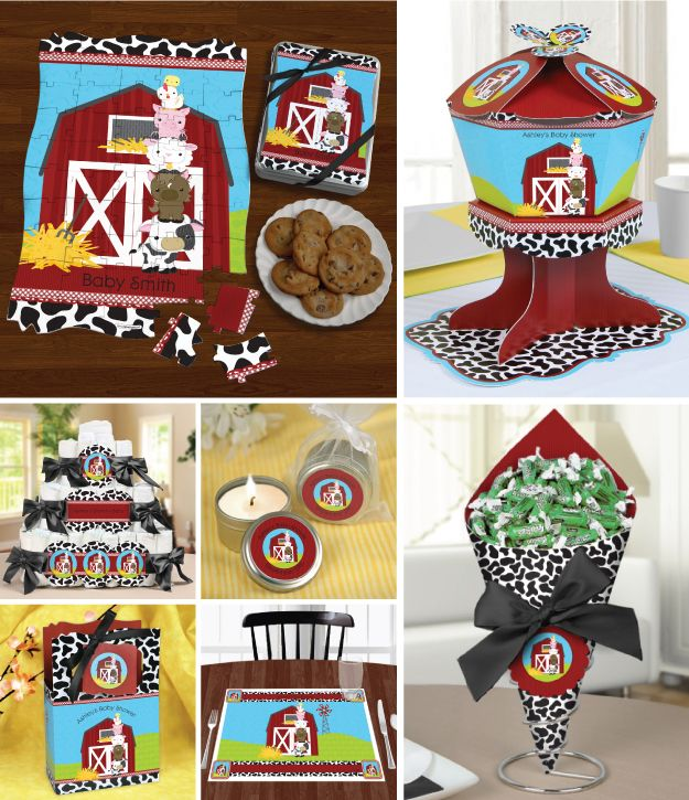 Image Detail for - Farm Animals Party Supplies Help Create an Event Even Old McDonald ...