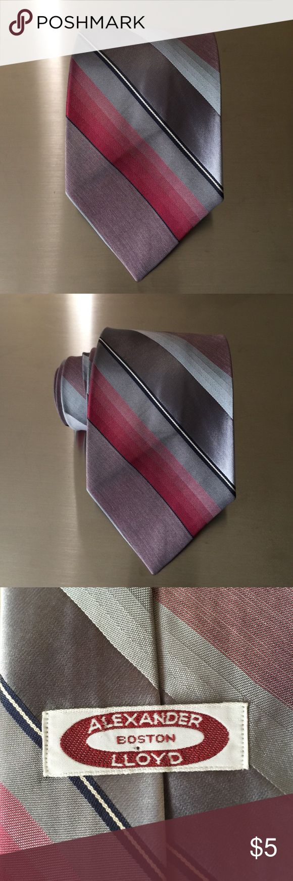 Alexander Lloyd Boston Striped Tie Alexander Lloyd Boston Striped Tie. Good condition. Alexander Lloyd Accessories Ties