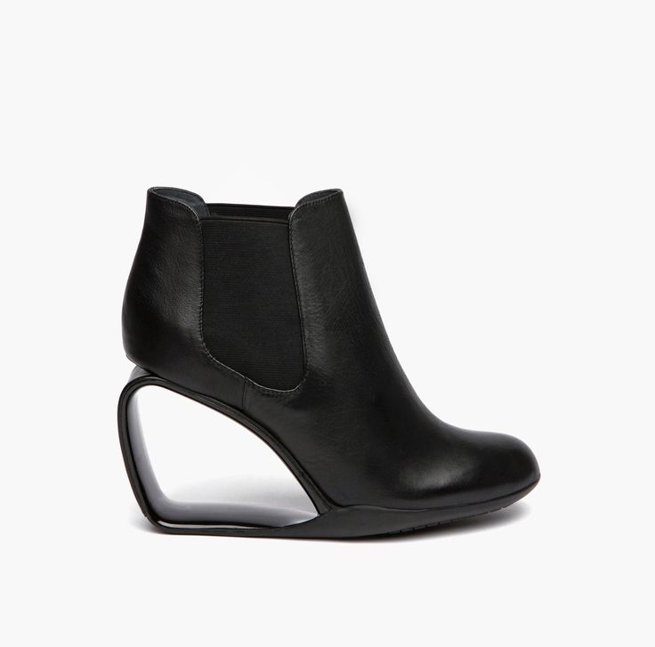 United Nude Autumn Winter 2015 Step Mobius Chelsea Black elastic