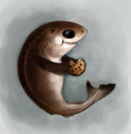 Cookiecutter shark Art
