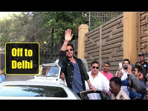 WATCH Shahrukh Khan off to Delhi for RAEES Promotions | Exclusive Interview. Click to see full video >> https://youtu.be/LTDff3oFXgU #shahrukhkhan #raees #bollywood #bollywoodnews #bollywoodgossips #bollywoodnewsvilla