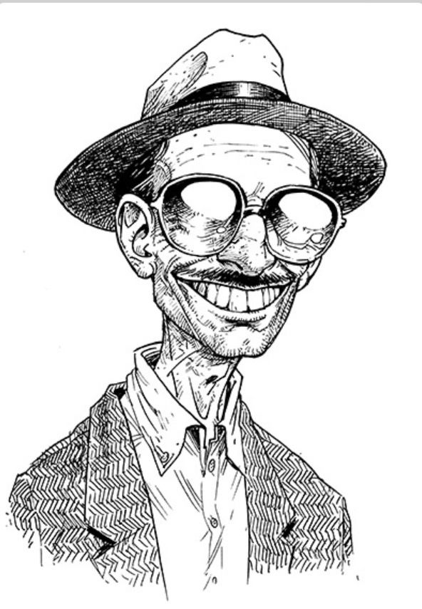 Robert Crumb Self Portrait