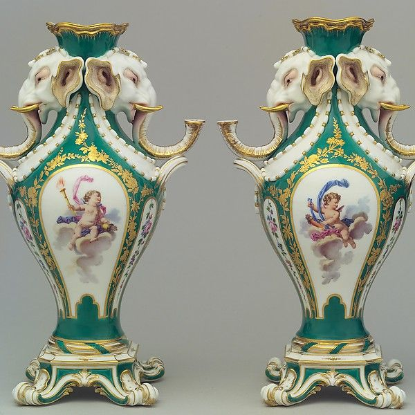 The 14 Best Sevres Vases Images On Pinterest Elephant Head Vases