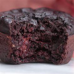 Dark Chocolate Banana Bread Muffins