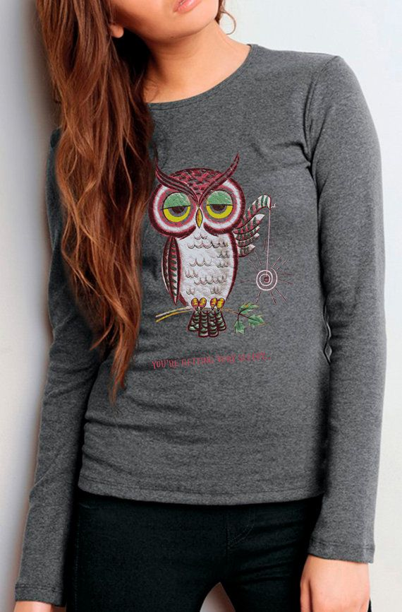 owl shirt  vintage design You're GETTING by ToTheMoonAndBack, $28.00
