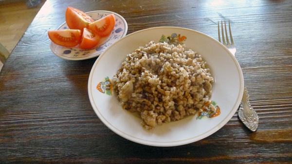 #Recipe: #Buckweat with #mushrooms