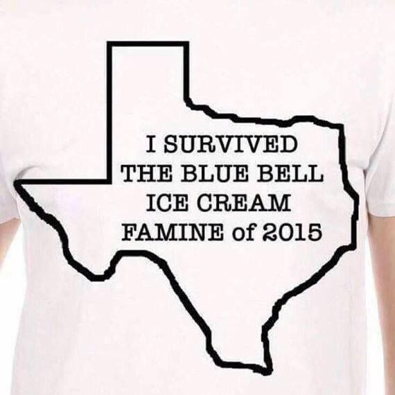 I survived the Blue Bell ice cream famine of 2015...BARELY!