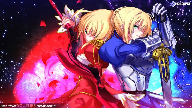 Most Wondrous Battle OSTs Ever  Let The Stars Fall Down (Fate/Zero)
