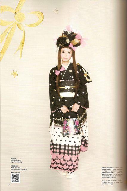 Kimono-hime issue 10. Fashion shoot page 47. by Satomi Grim, via Flickr
