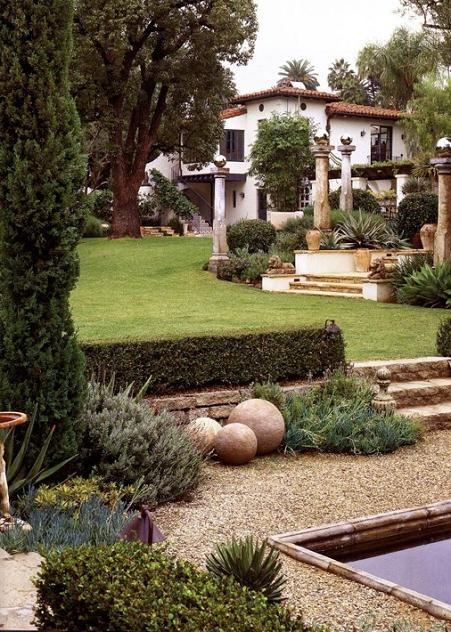 Dizain doma ispanskiy stil landshaftnyy dizain terassy for Dizain home