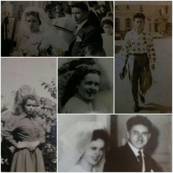 Recuerdos bellos de juventud