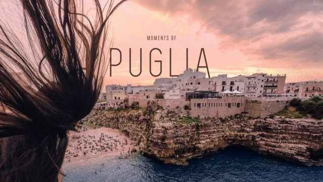 """""""Moments of Puglia"""", il video che ti farà innamorare di questa Regione C'è una lista chiamata """"1.000 posti da vedere prima di morire"""". Gettando uno sguardo su di essa, si noterà che l'Italia – e la Puglia in particolare – vanta un numero invidiabile di posizioni.  #viaggi #italia"""