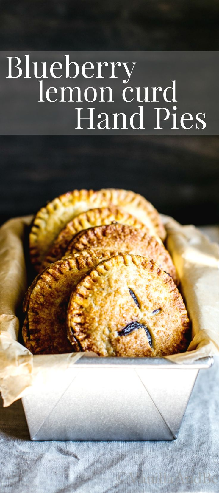 Prep ahead, assemble and bake later. Tuck these Blueberry Lemon Curd Hand Pies into your love's lunchbox, or serve warm with a scoop of vanilla bean ice cream. Dessert   Summer   Recipes   Pastry