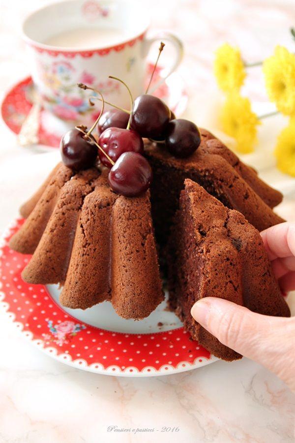 torta al cocco e cacao - vegan e gluten free