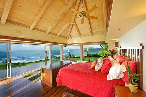Whoa.Dreams Bedrooms, Beach Home, Beach House, Beach Bedrooms, The Ocean, Colors Room, The View, Ocean View, Oceanview