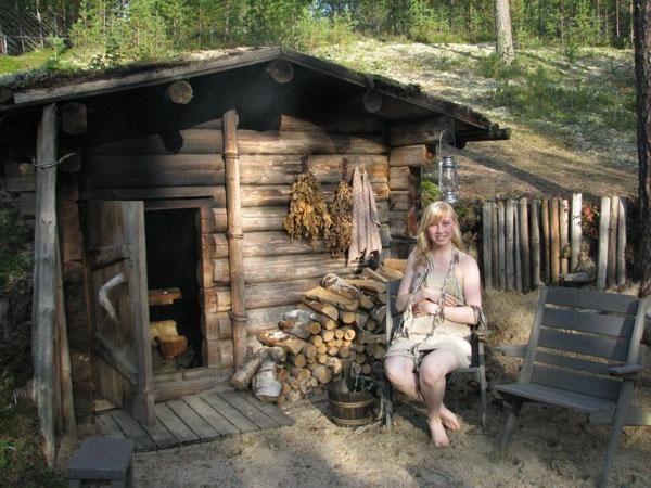 две секс с деревенской бабой в бане была курсе