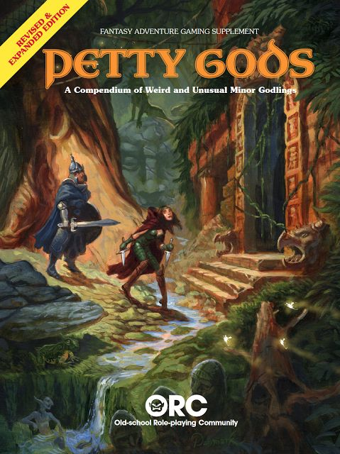 Swords & Stitchery - Old Time Sewing & Table Top Rpg Blog: Using The Petty Gods OSR Resource Book For Your Old School Science Fiction or Science Fantasy Campaigns